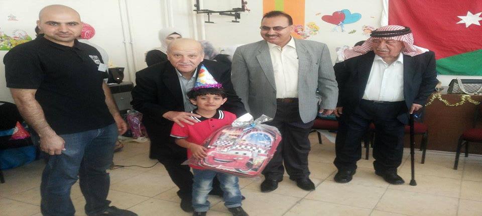 عميد كلية الاميرة رحمة الجامعية يرعى احتفال قسم الخدمة الاجتماعية بمشروع ( بصمة خير ) للأطفال الايتام