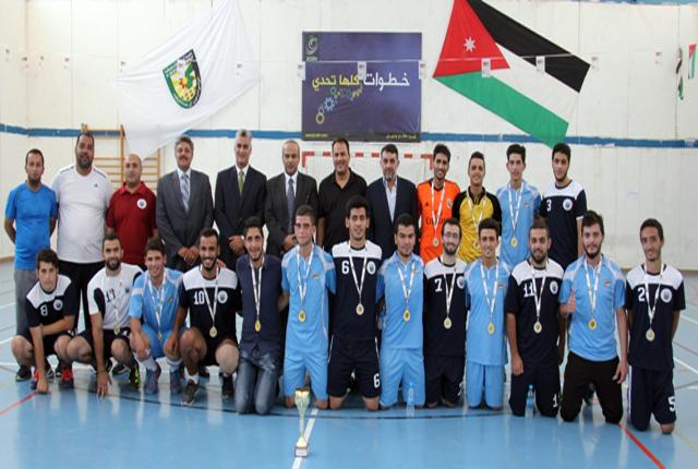 لقاء رياضي في البلقاء التطبيقية احتفالا بمئوية الثورة العربية الكبرى